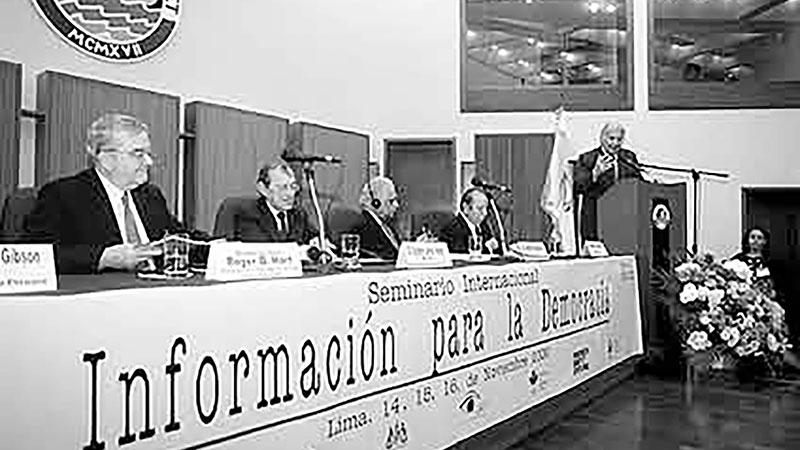 Consejo de la Prensa Peruana celebra los 18 años de la suscripción de «Los Principios de Lima»