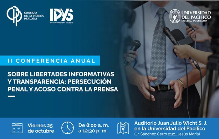 La II Conferencia de Libertades Informativas tendrá un jugoso programa