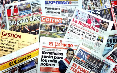 Informe 2020-I de libertad de expresión en el Perú para la Sociedad Interamericana de Prensa